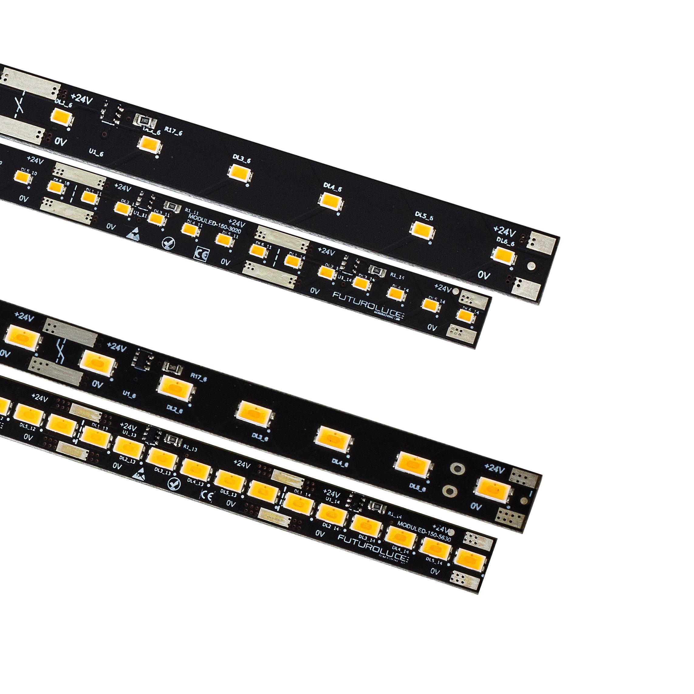 Barra led moduled monocolore futuro luce - Barre a led per interni ...